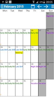 Shift Wage Planer - náhled