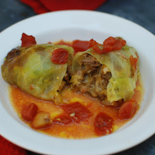 Cheesesteak Cabbage Rolls