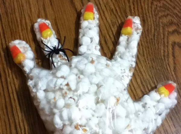 Popcorn Hands Recipe