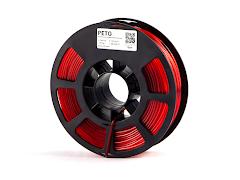 Kodak Translucent Red PETG Filament - 2.85mm (0.75kg)