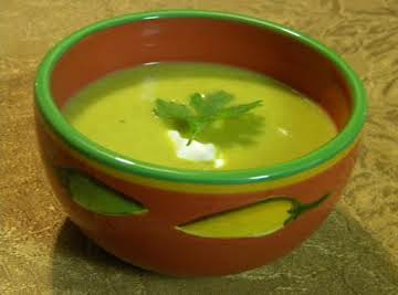 Creamy Southwestern Pumpkin Soup