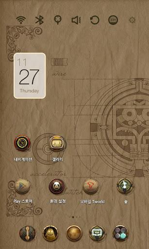Da Vinci Code Launcher Theme