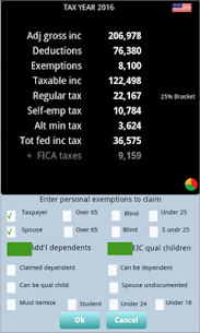 TaxMode: income tax calculator & planner for USA App Download For Android and iPhone 7