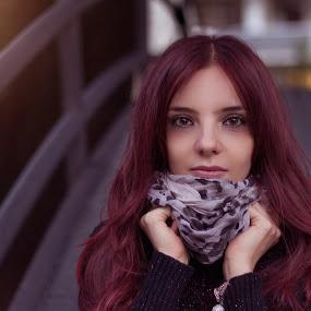 Autumn by Livio Siano - People Portraits of Women ( sexy, model, girl, autumn, beautiful, sunshine, beauty in nature )