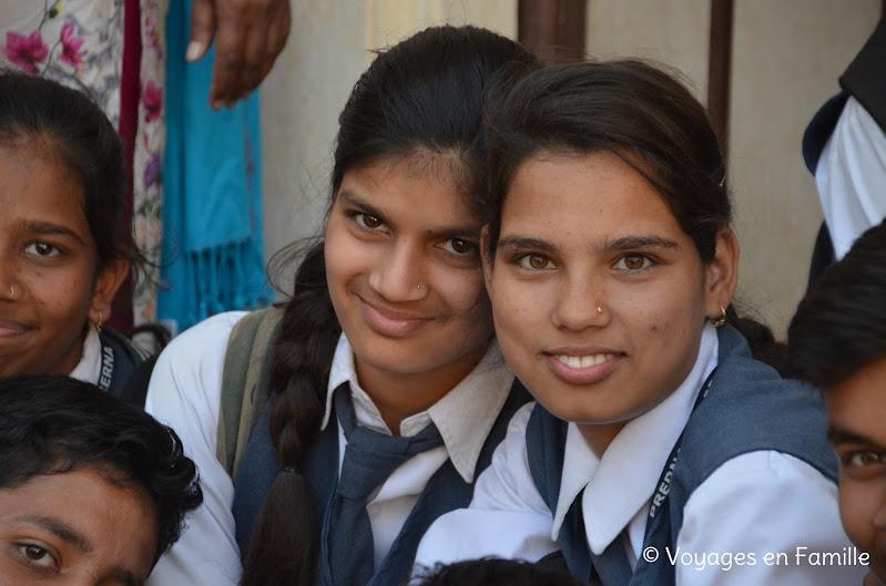 Kumbhalgarh jeunes filles