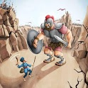 David and Goliath AR icon
