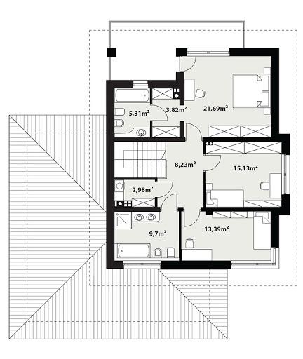 Korso 2 - Rzut piętra