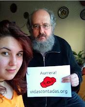 Photo: Iñaki Arzoz, nuestro amigo hacktivista cultural de Nafarroa y Jone Arzoz,Fotógrafa del colectivo Artamugarriak. Tío y sobrina de una familia Artivista.
