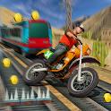 Railway Train: Subway Bike Riding icon