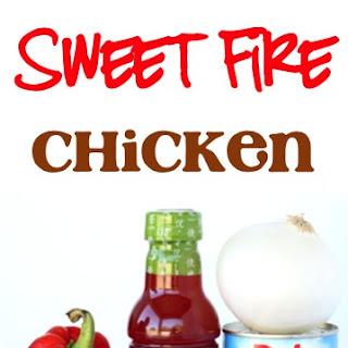 Crockpot Sweet Fire Chicken Recipe!
