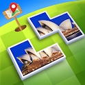 Jigsaw Journey – relax, travle and share icon