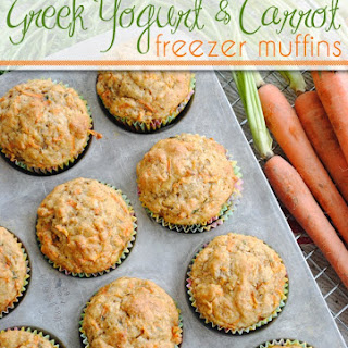 Greek Yogurt and Carrot Muffins
