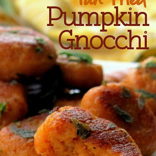 Pan-Fried Pumpkin Gnocchi with Sage (Vegan & Gluten-Free)