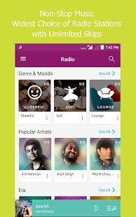 JioMusic - HD Music & Radio Screenshot