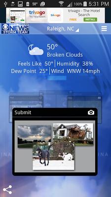 WNCN Wx - screenshot