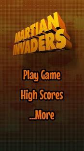 Martian Invaders - náhled