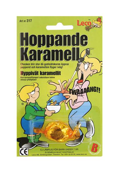 Hoppande karamell