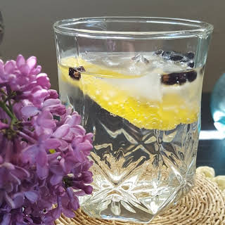 Lilac Infused Spanish Gin and Tonic.