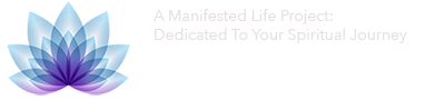 My Manifested Life Mobile Header Lotus Flower With Slogan
