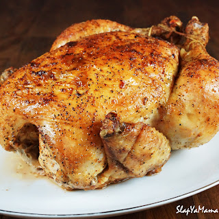 Baked Whole Chicken With Lemon And Garlic Recipes