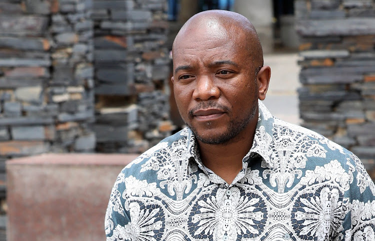 Mmusi Maimane says the DA opening the door to a coalition with the ANC is an admission of defeat File photo.