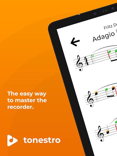 tonestro for Recorder - practice rhythm & pitch screenshots 9