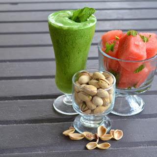 Green Protein Smoothie.