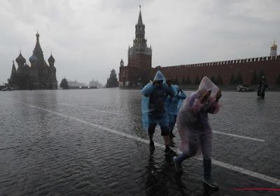 Tempête en Russie : journalistes et supporters voient leur vol retardé
