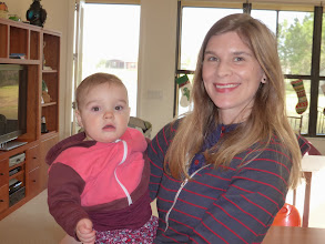 Photo: Jim's niece Jennifer with her baby girl Shenandoah at Peg's house in Poinciana