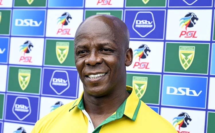 Mandla Ncikazi, Coach of Lamontville Golden Arrows.