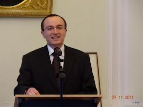 Photo: Dhr. H.E. Gyula Sümeghy - ambassadeur van Hongarije