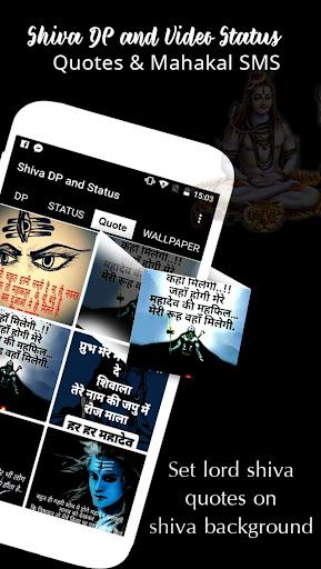 Download Shiva DP and Video Status - Quotes & Mahakal SMS