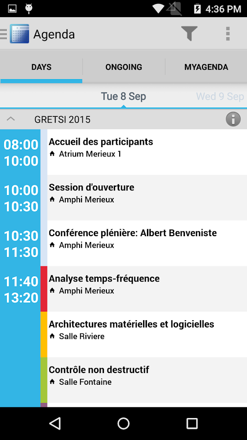 GRETSI 2015- screenshot