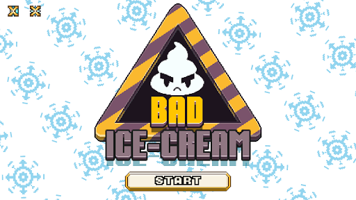 Bad Ice Cream Mobile: Ice-cream in bad icy war  captures d'u00e9cran 1