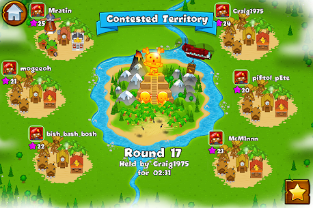 Bloons Monkey City Apk + Mod (Gold) for Android 4