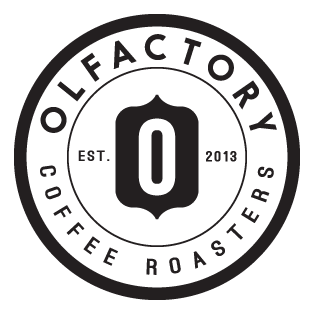 Logo for Olfactory Rocko Mountain Roast Coffee