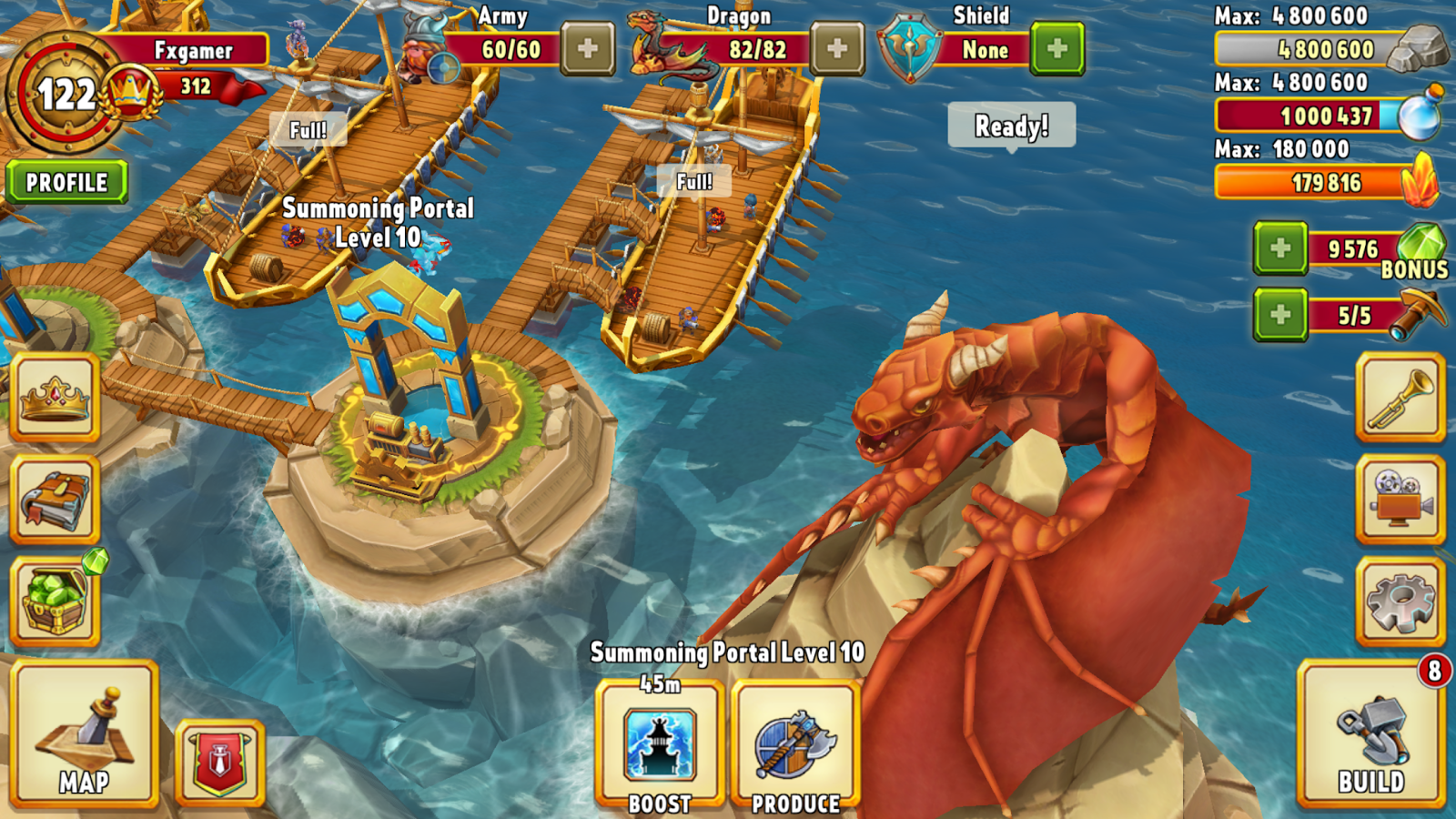 Dragon Lords 3D strategy- screenshot