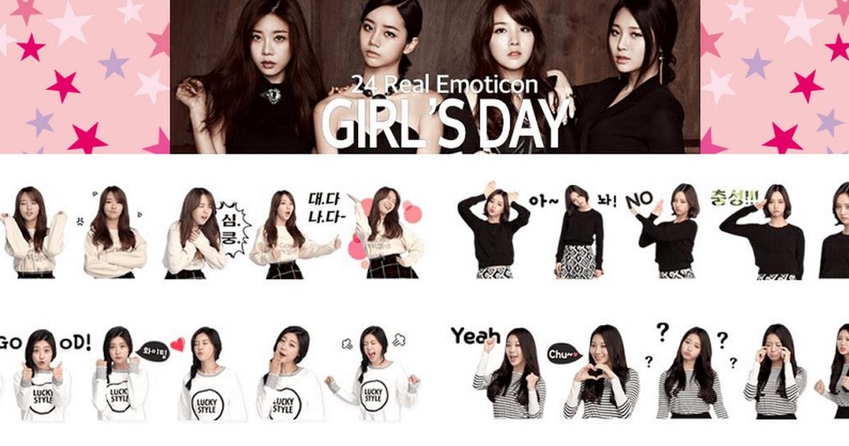 Girls Day Releases Kakaotalk Emoticons Koreaboo