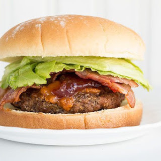 Peanut Butter & Jam Sriracha Burgers