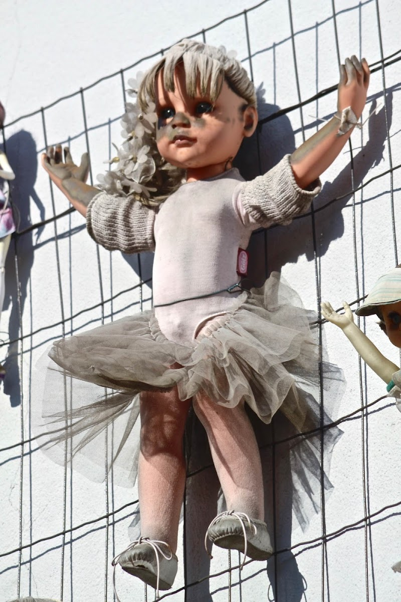 The wall of dolls (particolare) di F.O.