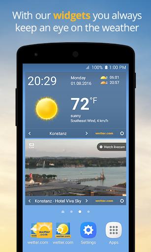 wetter.com - Weather and Radar  screenshots 4