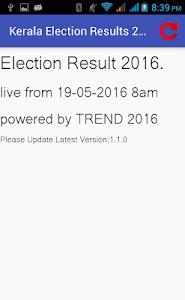 Kerala Election Results 2016 screenshot 1