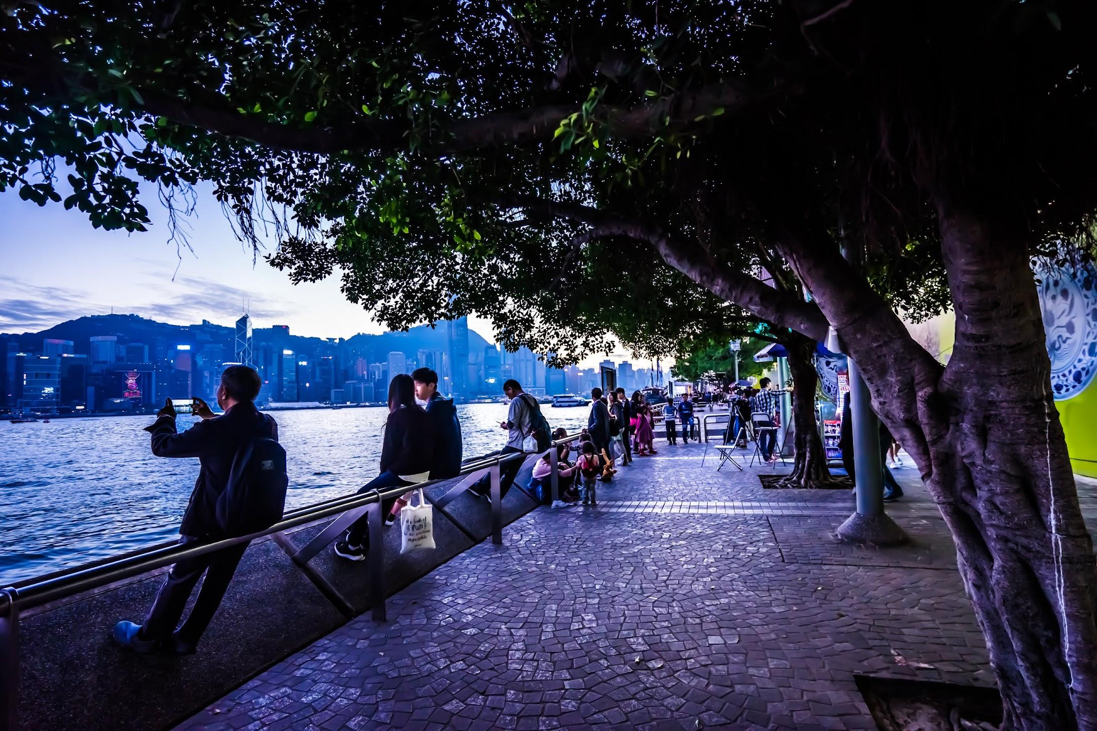 香港 尖沙咀 夕景2
