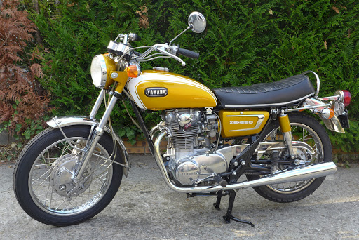 Yamaha 650 XS1B 1971