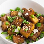 Grandma's Honey Sweet Tofu