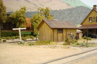 Photo: Station outhouse