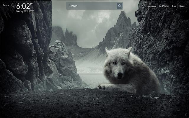 Wolf Wallpapers NewTab Theme