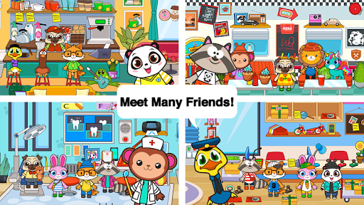 Télécharger Main Street Pets Village - Meet Friends in Town  APK MOD (Astuce) screenshots 2