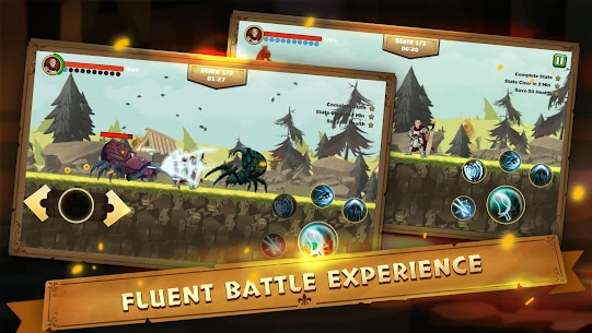 Guardian Knight Z: legend of fighting games Mod Apk Download For Android and Iphone 3