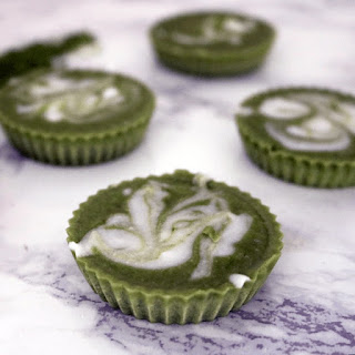 Low Carb Vegan Mint Matcha Fat Bombs.